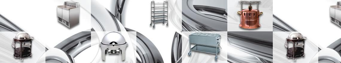 Accessori, armadi, carrelli, linea self service, pensili, tavoli, su misura, lavelli: una selezione Mister Kitchen