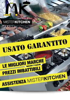 Mister Kitchen - Usato Garantito - Attrezzature per la ristorazione usate, cucine, friggitrici, lavastoviglie, forni