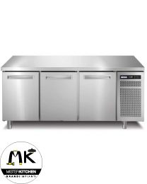 Tavolo frigorifero Afinox Spring - 3 sportell - Mister Kitchen
