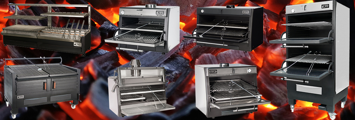 Forni a carbone Pira - Carne alla griglia - Forno per brace - Barbecue spagnolo