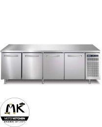 Tavolo frigorifero Afinox Spring - 4 sportell - Mister Kitchen